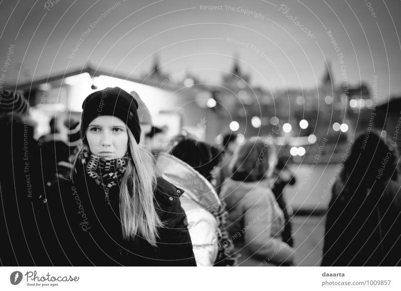 Mensch Ferien & Urlaub & Reisen Jugendliche Junge Frau 18-30 Jahre Erwachsene Gefühle feminin Freiheit Stimmung Lifestyle Freizeit & Hobby authentisch Ausflug