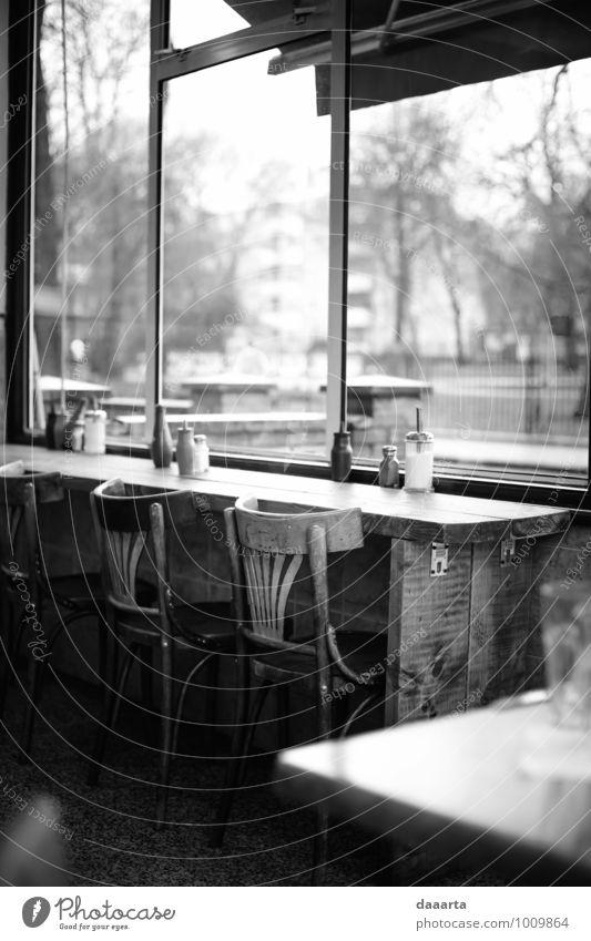 verregnetes Tagescafé Lifestyle elegant Stil Freude harmonisch Freizeit & Hobby Ausflug Abenteuer Stuhl Café Kantine Bar Cocktailbar ausgehen Schönes Wetter