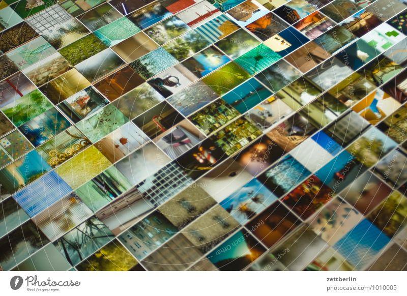 Aussortierte liegen Fotografie viele Bild Sammlung Menschenmenge Bildausschnitt Anhäufung Auswahl Vielfältig Angebot ausgestreckt Kunstgalerie