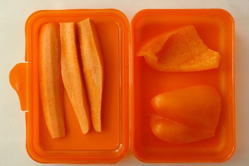 Gesundes Monochrom Erholung ruhig Gesunde Ernährung Gesundheit Essen Lebensmittel Schule Arbeit & Erwerbstätigkeit orange leuchten Lebensfreude Fitness Coolness