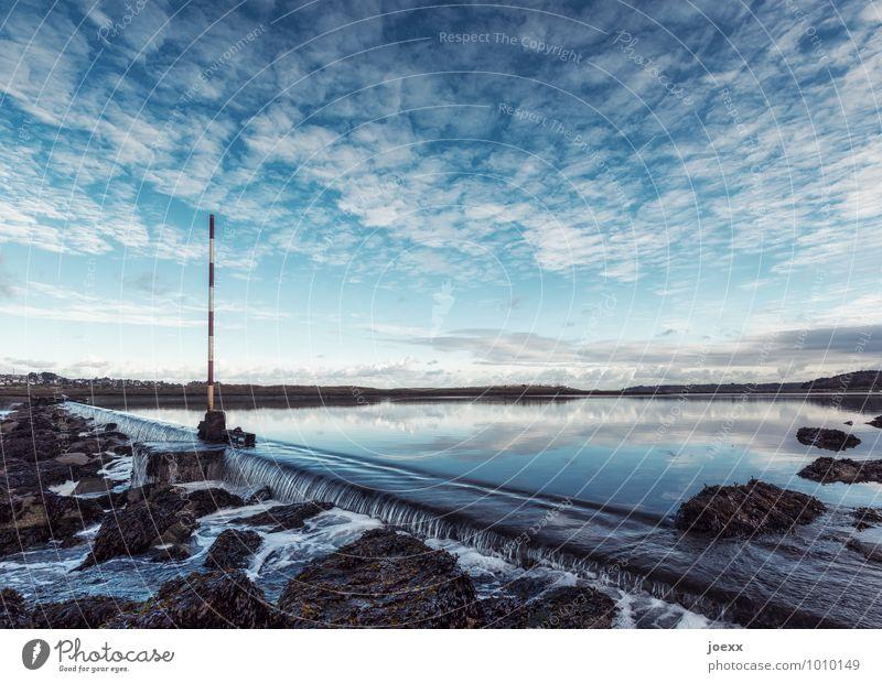 Eiswasser Himmel Landschaft Wolken Umwelt Horizont Idylle Schönes Wetter