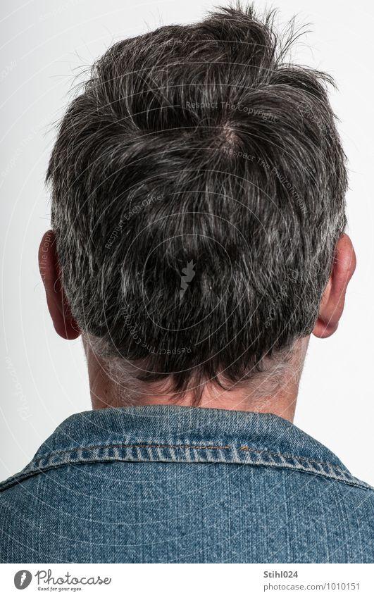 fotoscheu maskulin Mann Erwachsene Kopf 1 Mensch 30-45 Jahre authentisch rebellisch Coolness Willensstärke ruhig Unlust Enttäuschung Einsamkeit Scham Angst