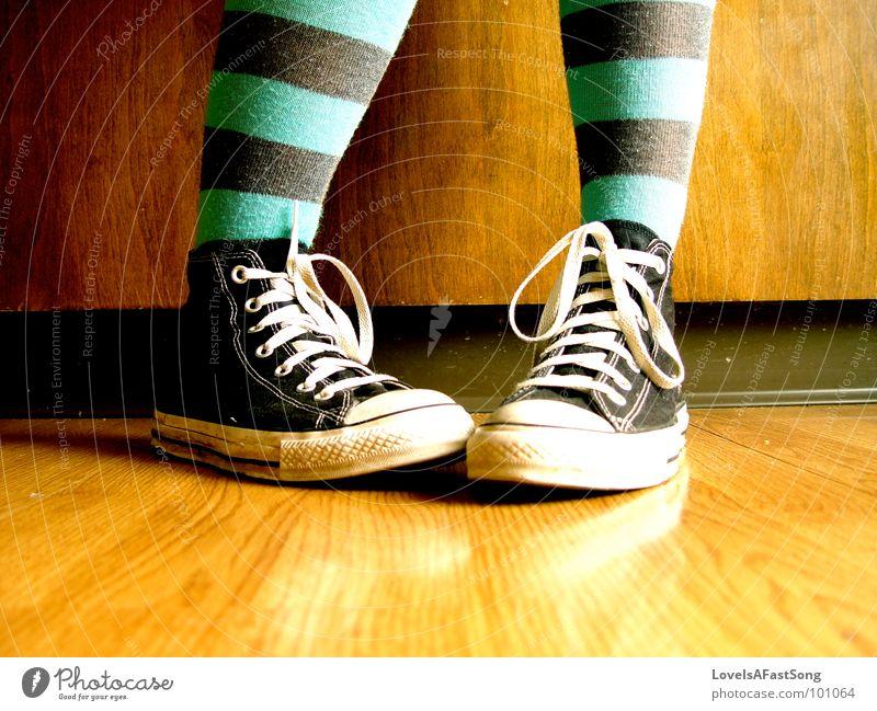 awkward shoes Küche Streifen Chucks Turnschuh Holzmehl