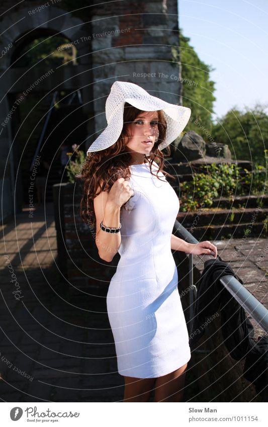 summer dream Frau Ferien & Urlaub & Reisen Jugendliche schön Sommer Junge Frau Erotik 18-30 Jahre Erwachsene feminin Haare & Frisuren Mode Lifestyle
