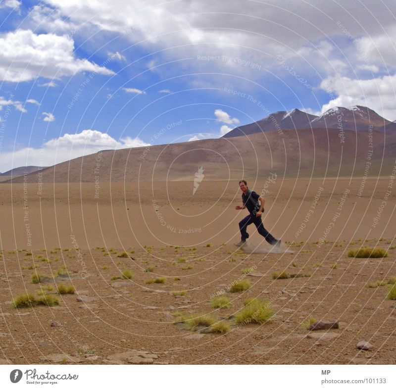 sport ohne sauerstoff I Himmel Pflanze Freude Berge u. Gebirge Sand Wüste Mond Tourist Vulkan Staub Bolivien Hochebene Anden Landschaft Yeti