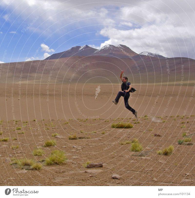 sport ohne sauerstoff II Himmel Pflanze Freude Berge u. Gebirge Sand Wüste Mond Tourist Vulkan Staub Bolivien Hochebene Anden Yeti