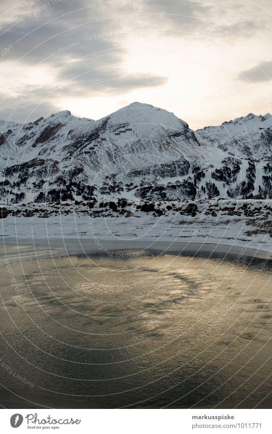 obertauern blick gamsleiten Ferien & Urlaub & Reisen Wasser Freude Ferne Berge u. Gebirge Schnee Sport Lifestyle Freiheit See Felsen Horizont Tourismus Eis