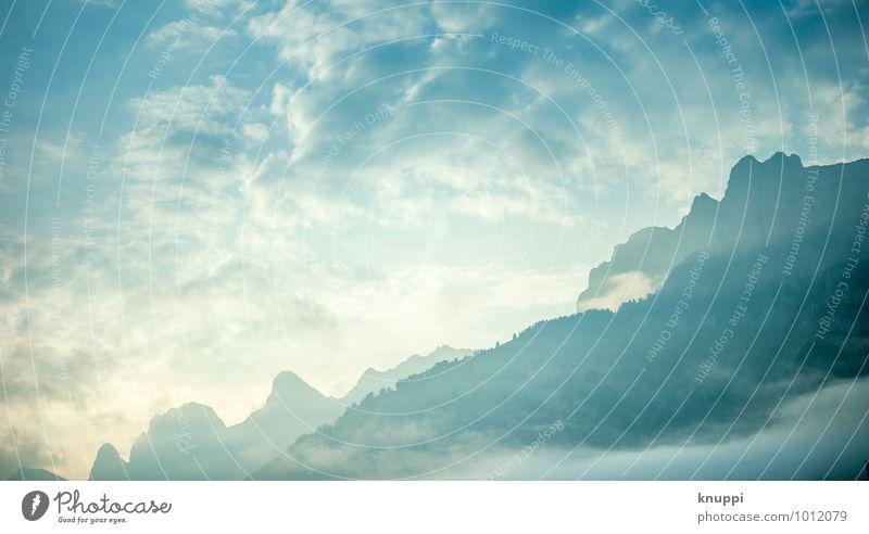 heiter bis wolkig Himmel Natur blau weiß Wasser Sommer Sonne Landschaft Wolken Umwelt Berge u. Gebirge Frühling Glück hell Felsen Luft