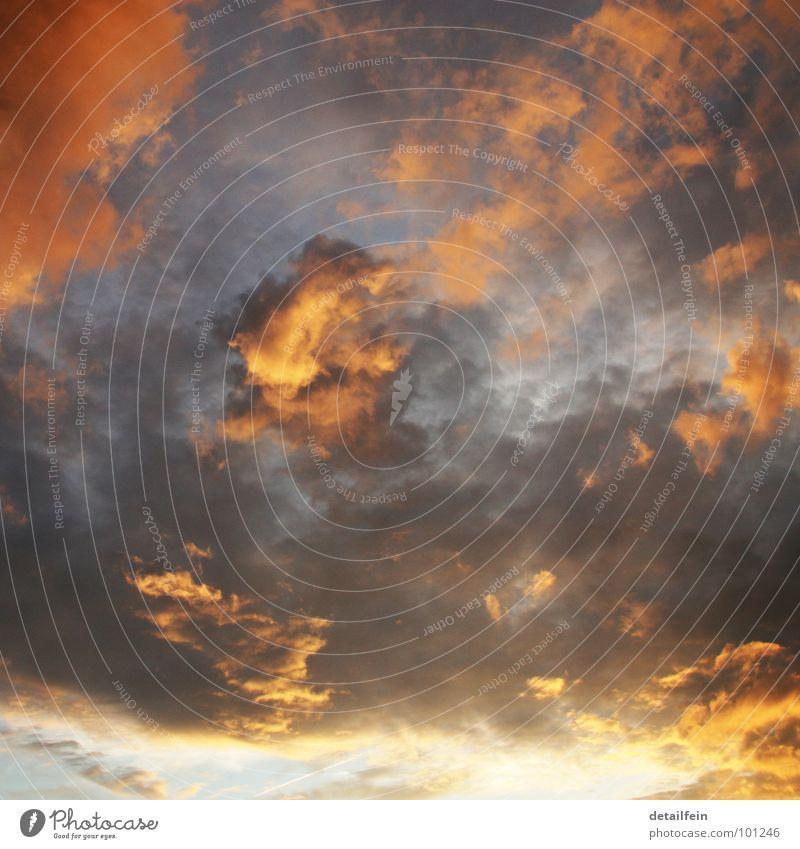 rosarotblasblauweiß Himmel Sonne Sommer Wolken Wetter Klima Unendlichkeit Abenddämmerung