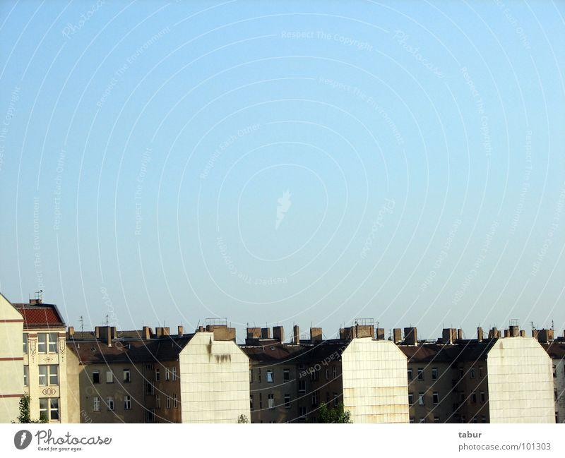 Ausblick Haus Dach Aussicht Berlin Himmel