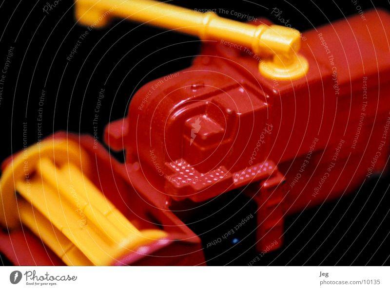 Mähdräscher by Matchbox rot gelb Landwirtschaft Fahrzeug Produktion