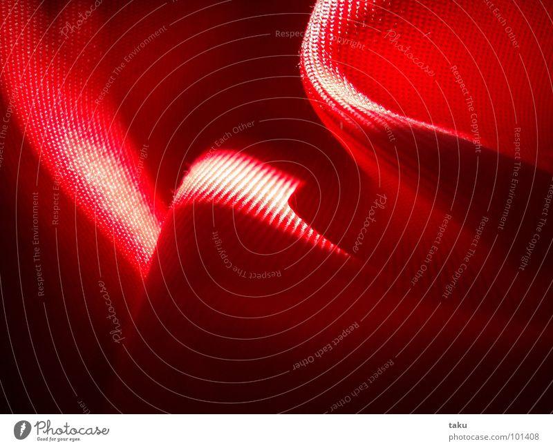 CREASED Erholung rot Fenster Wärme Beleuchtung weich Falte Physik Wohnzimmer kuschlig Sessel Jalousie Höhepunkt Schlafplatz