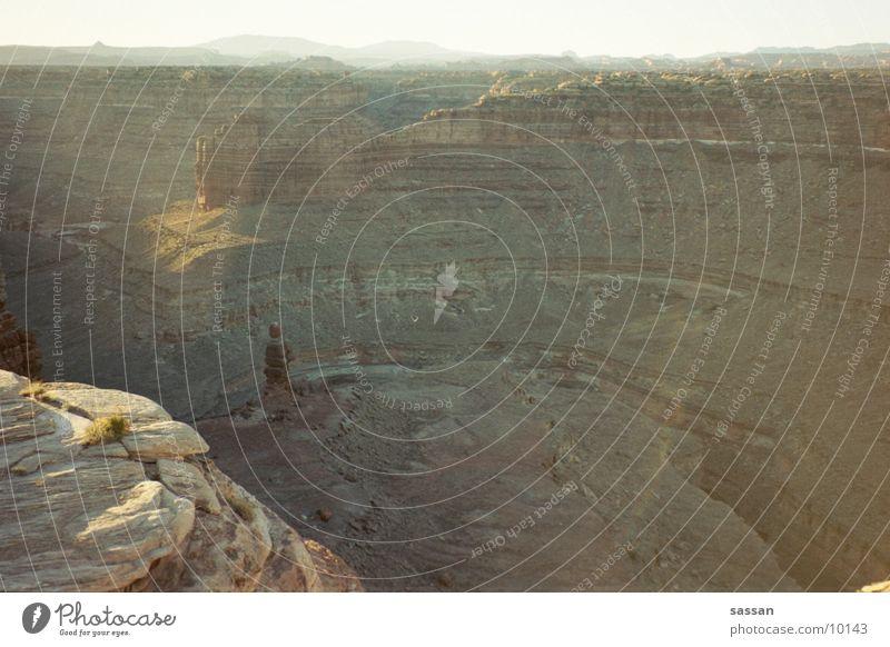 backpacking01 Natur Berge u. Gebirge Graffiti Utah Rucksacktourismus