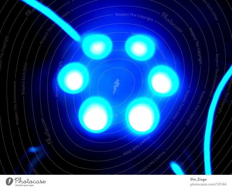 bLuE UFO Makroaufnahme Nahaufnahme schaltknauf blau astra verschönern