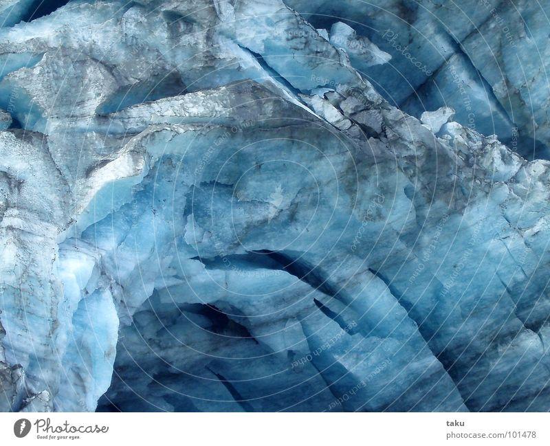 MOTHER EARTH schön blau schwarz kalt Berge u. Gebirge Eis Erde wandern groß Macht Fluss Kultur dick Teilung Klettern Schnellzug