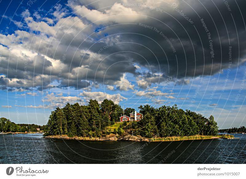 Der Schwede an sich und seine Schäreninsel Natur Ferien & Urlaub & Reisen Pflanze Sommer Baum Meer Landschaft Wolken Umwelt Gefühle Küste Freiheit Zufriedenheit Wellen Tourismus Insel