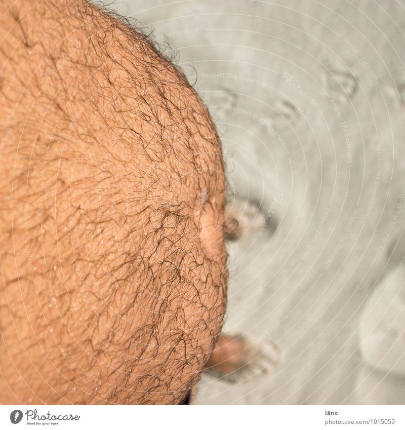 potzblitz... was für ein Bauch Haare & Frisuren Haut Ferien & Urlaub & Reisen Tourismus Ausflug Sommer Sonne Sonnenbad Strand Meer Arbeitslosigkeit Ruhestand