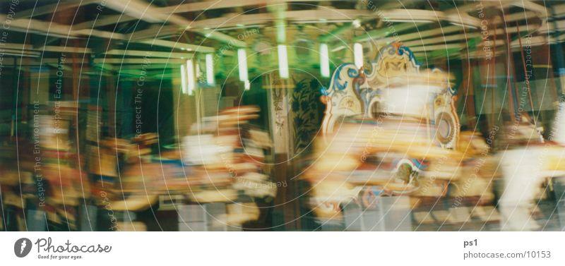 roundabout Bewegung Pferd Jahrmarkt Karussell