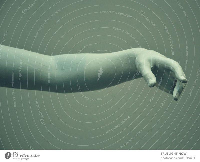 Komm, gib mir deine Hand... Mensch androgyn Leben Körper Arme Finger 1 Kunst Ausstellung Kunstwerk Skulptur Kultur Bewegung Tanzen ästhetisch außergewöhnlich