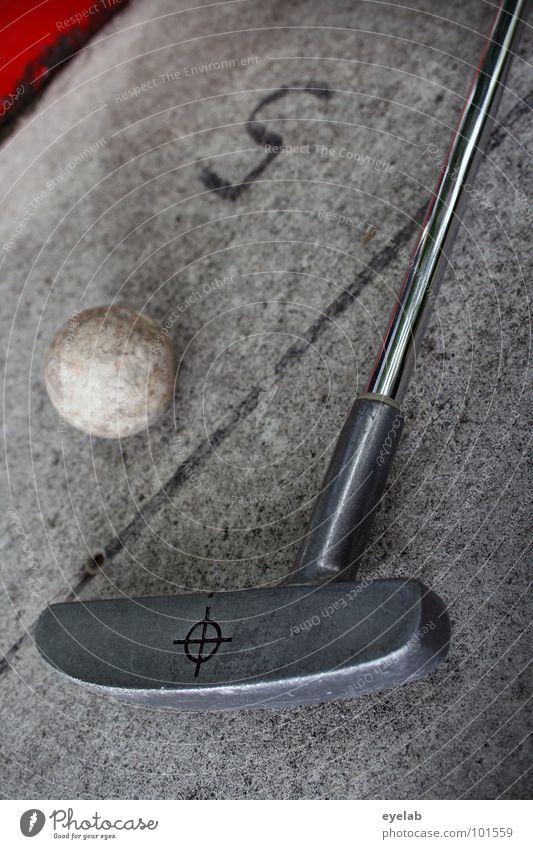 5 über Par Minigolf Spielen Ferien & Urlaub & Reisen Freizeit & Hobby Golfschläger Minigolfschläger Golfball rot grau Stahl Bahnbegrenzung Stengel