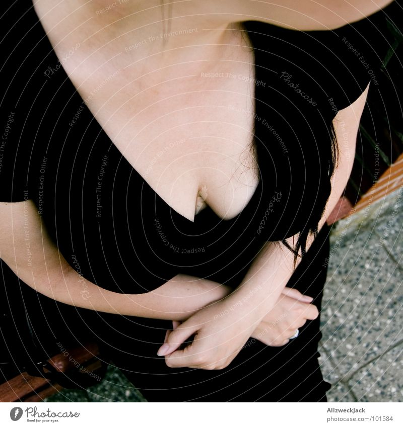 Guten Tag! Frau schön Frauenbrust Ball Kommunizieren Aussicht Brust Hals frech Voyeurismus Glocke verpackt Dekolleté Hupe Euter