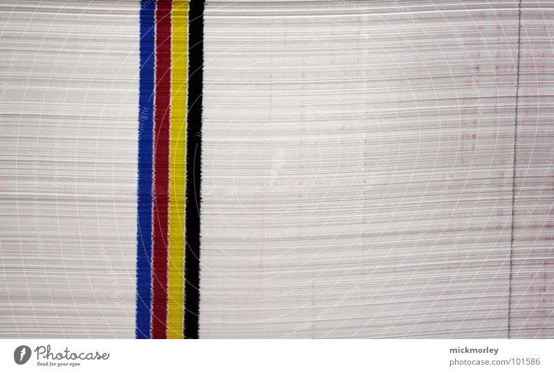 cmyk blau rot schwarz gelb Farbe Design Papier Streifen Dienstleistungsgewerbe türkis Grafik u. Illustration Druck zyan Bogen 100 schwer