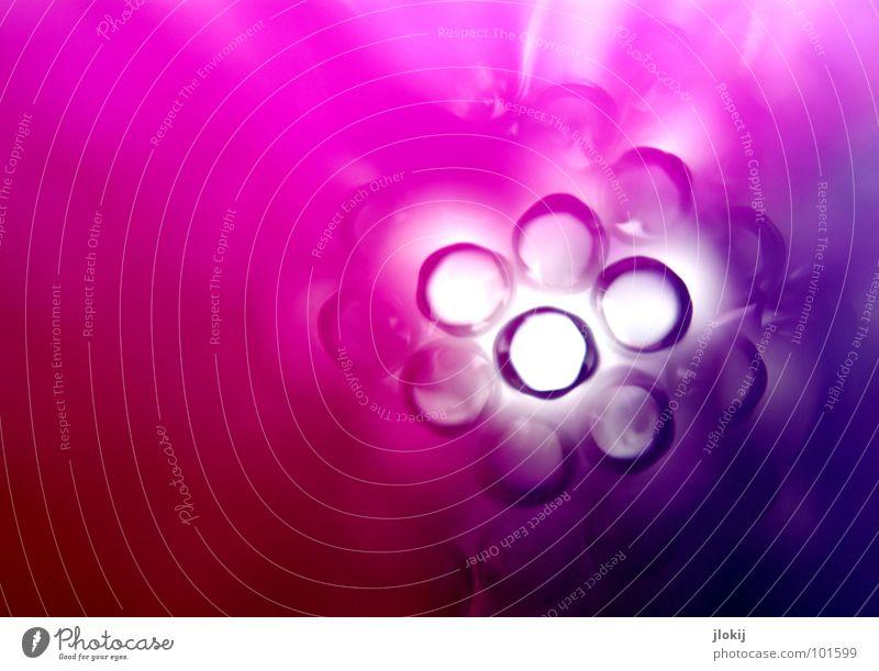 Durchblick VI blau Farbe gelb Spielen Lampe rosa orange fantastisch rund Getränk chaotisch Loch bizarr durcheinander Tunnel Cocktail