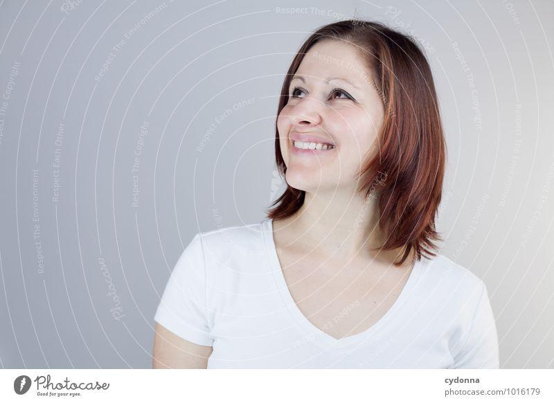 Schön ausgemalt Mensch Jugendliche schön Junge Frau Freude 18-30 Jahre Erwachsene Leben natürlich Glück Gesundheit lachen Religion & Glaube Lifestyle träumen
