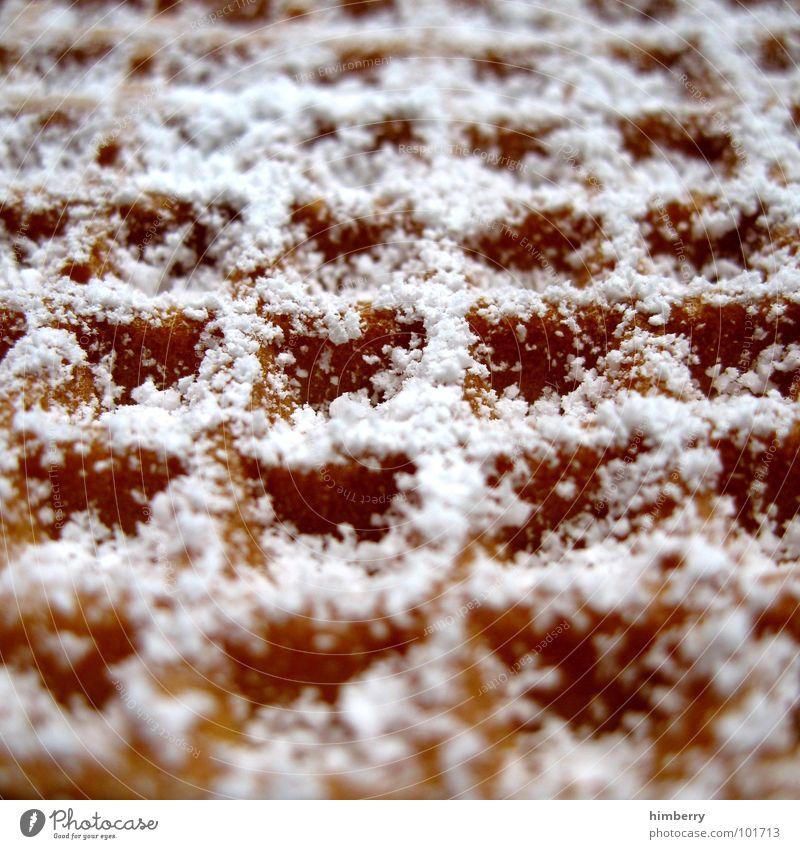 waffle now Ernährung süß Kochen & Garen & Backen Süßwaren Zucker Teigwaren Dessert Waffel Backwaren