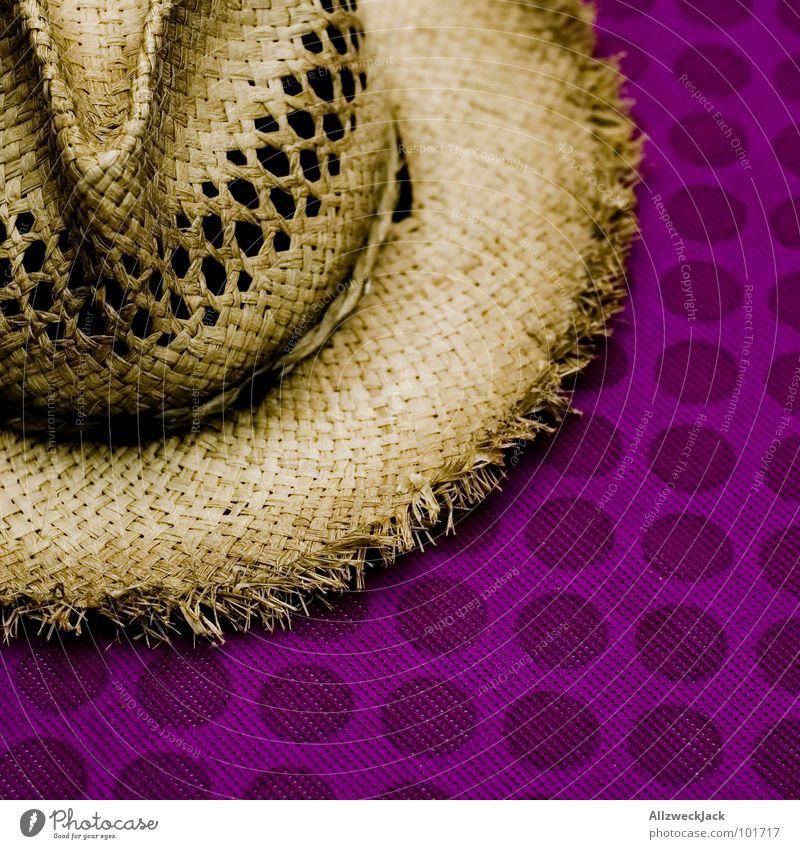 Biokopfbedeckung vs. Polyvinylchloridtischtuch Strohhut Kopfbedeckung Farmerhut Halm getrocknet Mütze Stil Kreis Kaffeepause Pause Langeweile Sommer Hut