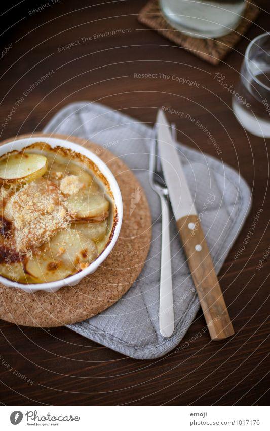 Gratin Kartoffeln Ernährung Mittagessen Vegetarische Ernährung Slowfood Geschirr lecker Appetit & Hunger Farbfoto Innenaufnahme Menschenleer Tag