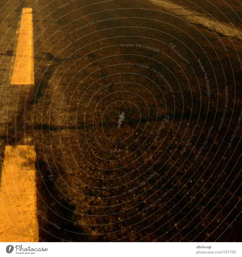 Wüstenasphalt Ferien & Urlaub & Reisen Einsamkeit gelb Straße Wärme Wege & Pfade Sand Linie Schilder & Markierungen wandern Verkehr leer Streifen Bodenbelag