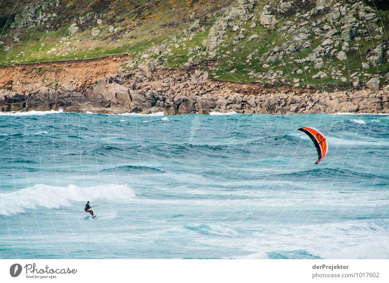 Kiten gegen die Urelemente Ferien & Urlaub & Reisen Tourismus Ausflug Abenteuer Ferne Freiheit Sport Wassersport Umwelt Natur Landschaft Pflanze Tier Frühling
