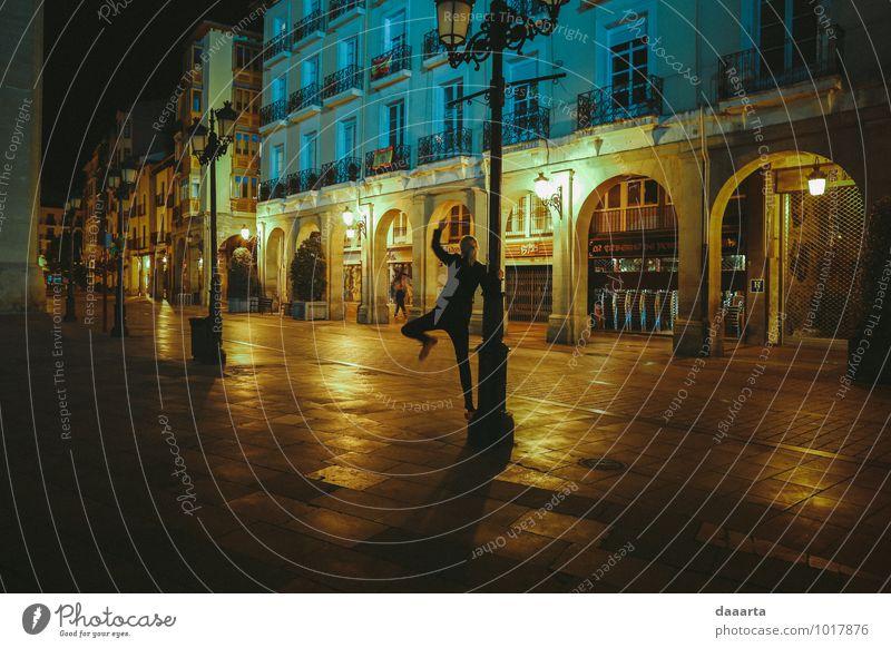 Nächte in Spanien Lifestyle elegant Stil Freude Freizeit & Hobby Spielen Ferien & Urlaub & Reisen Ausflug Abenteuer Freiheit Feste & Feiern feminin Logrono
