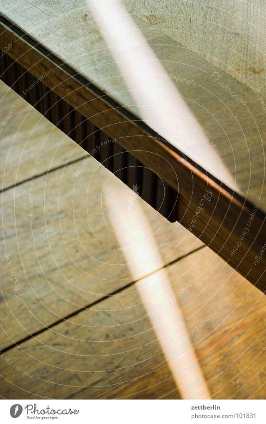 Tisch Sonne Holz Wohnung Tisch Bodenbelag Häusliches Leben Möbel Holzbrett Holzfußboden Streiflicht