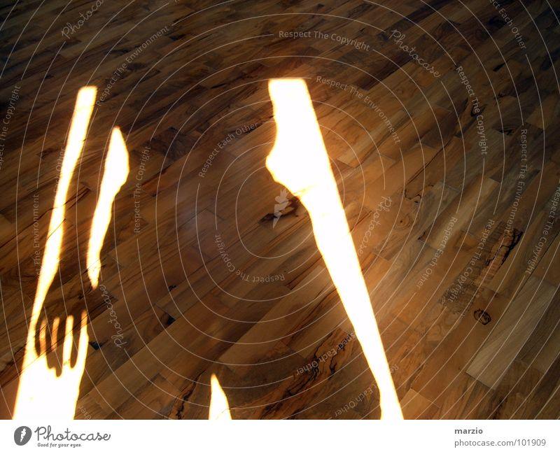Through the shadow Tanzfläche Holzmehl Licht braun Haus Physik Silhouette Flur dunkel Beleuchtung abstrakt Lomografie brown myself home sun light Schatten