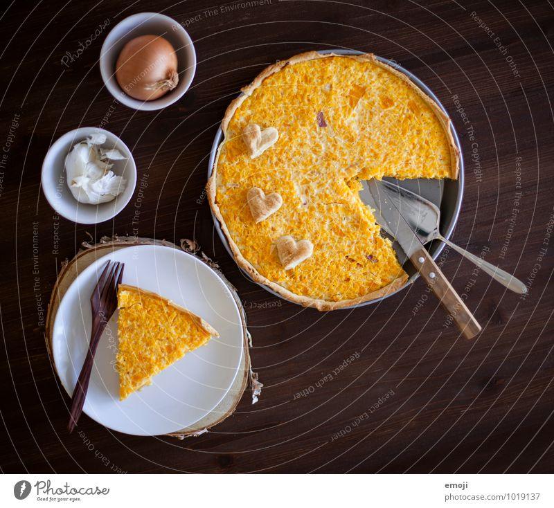 Kürbiswähe orange Ernährung Gemüse lecker Backwaren Teigwaren Mittagessen Vegetarische Ernährung Kürbiszeit