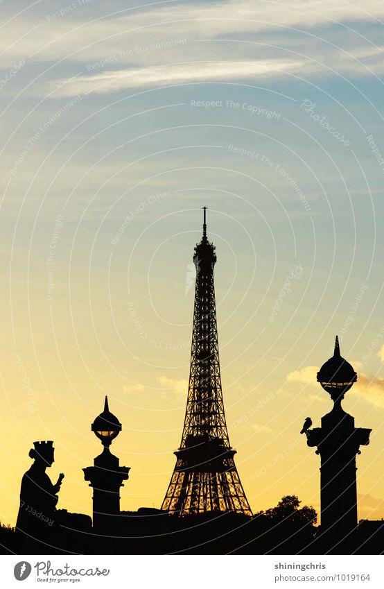 to paris with love // jesuischarlie Ferien & Urlaub & Reisen blau ruhig schwarz gelb Architektur Freiheit Freizeit & Hobby Tourismus Ausflug Wahrzeichen Paris
