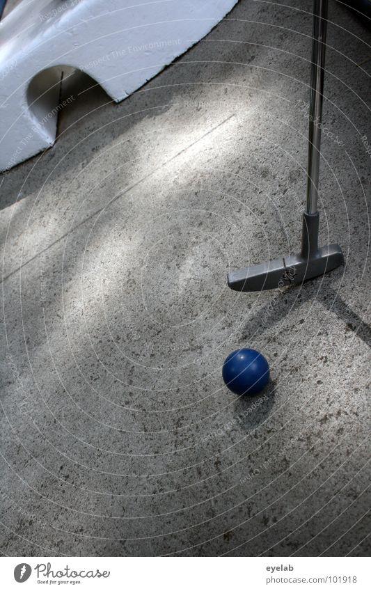 Das Runde muss in das Halbrunde Minigolf Spielen Ferien & Urlaub & Reisen Freizeit & Hobby Golfschläger Minigolfschläger 5 Golfball rot grau Stahl