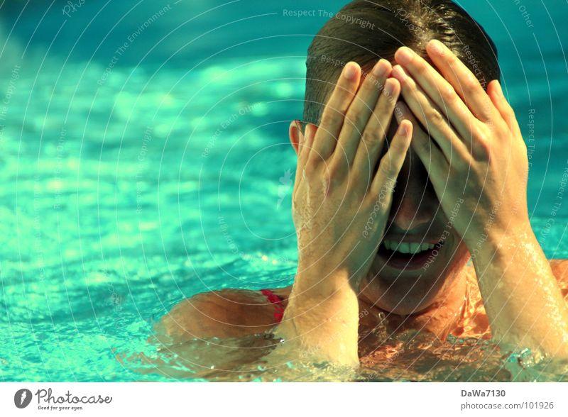 P00lquatsch Wasser Sommer Freude kalt Wärme Schwimmen & Baden nass Schwimmbad Schwimmsport Physik Schifffahrt Unsinn Chlor