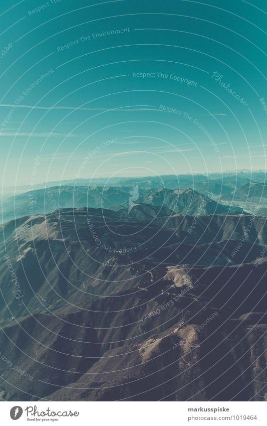 mountain view Ferien & Urlaub & Reisen Landschaft Ferne Umwelt Berge u. Gebirge Freiheit fliegen Felsen träumen Freizeit & Hobby Tourismus ästhetisch Ausflug