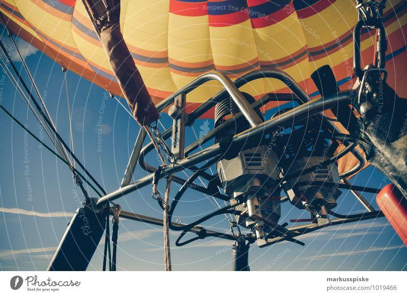 heissluftballon Freizeit & Hobby Ferien & Urlaub & Reisen Tourismus Ausflug Abenteuer Ferne Freiheit Sightseeing Expedition Winterurlaub Berge u. Gebirge
