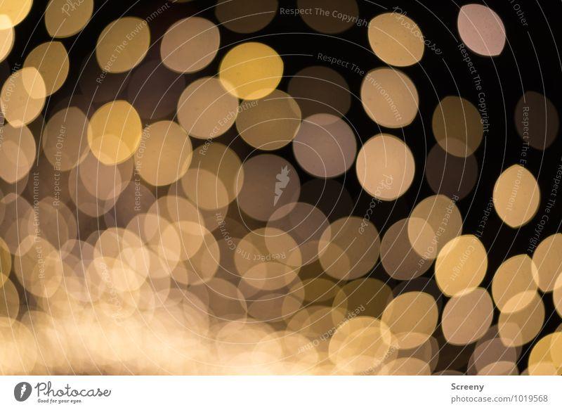 Weihnachtsglitter Stimmung glänzend leuchten gold Veranstaltung Nachtleben Weihnachtsmarkt Markt
