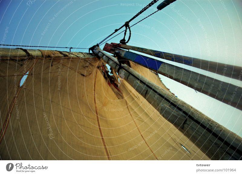 Feel free Freiheit Wasserfahrzeug Wind Schifffahrt Segel Ägypten Nil Luxor