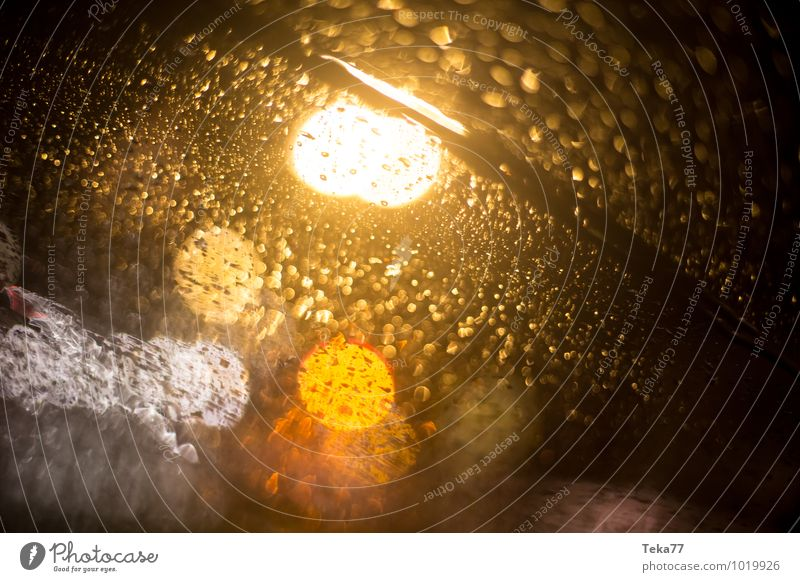 Regenverkehr II Winter Umwelt Natur Klima Klimawandel Wetter schlechtes Wetter Unwetter Wind Sturm Gewitter Verkehr Verkehrsmittel Verkehrswege Personenverkehr