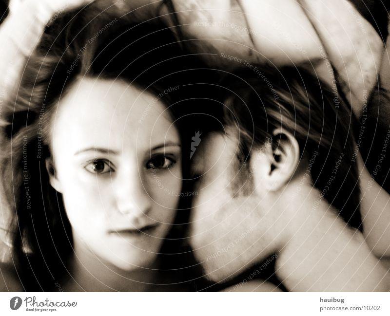 Liebe ist...     #2 Mensch Liebe Zusammensein Geborgenheit Sepia Zuneigung