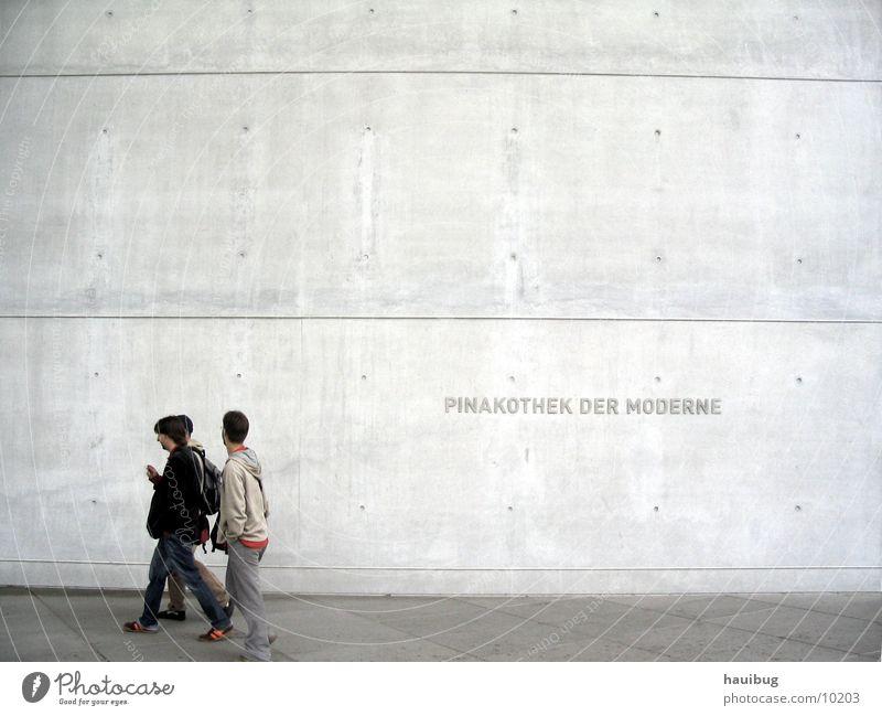 Pinakotek der Moderne Kunst Ausstellung grau Kultur Messe modern