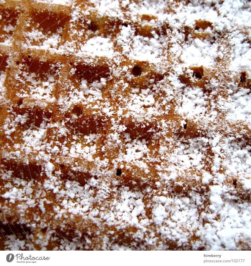 waffle time Ernährung süß Ecke Kochen & Garen & Backen Süßwaren Zucker Teigwaren Dessert Waffel
