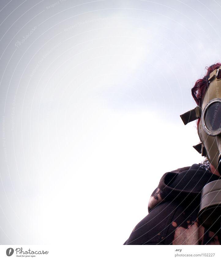 pure barbarism Angst dreckig verrückt gefährlich Maske Rauch Schmerz Krieg Geruch Gas Punk Panik spritzen Karnevalskostüm Seele Schrecken