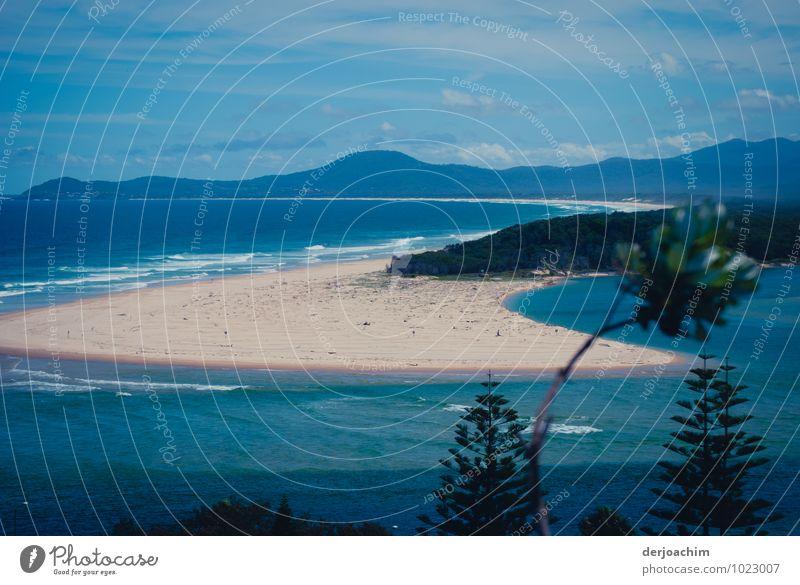 Endlich Urlaub Ferien & Urlaub & Reisen blau schön Wasser Sommer Erholung Meer Landschaft ruhig Freude Küste Freiheit außergewöhnlich Sand Zufriedenheit
